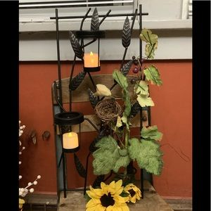 Metal & Iron Candle 🕯 Sconces